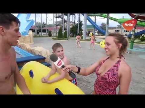 Аквапарк Джубга 2016 | Обзор горок | Блогеры тестируют аквапарк | телеморе