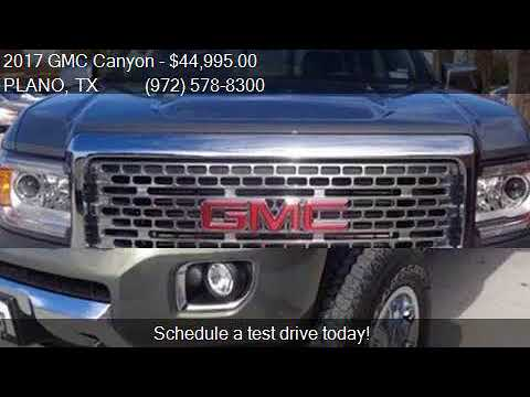2017 gmc canyon 4wd denali for sale in plano tx 75075 at c3 youtube. Black Bedroom Furniture Sets. Home Design Ideas