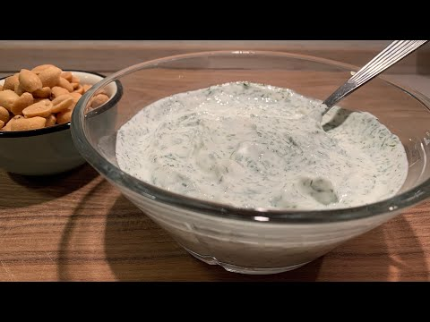 Dill Dip Perfect For Chips & Crackers - Recipe #77