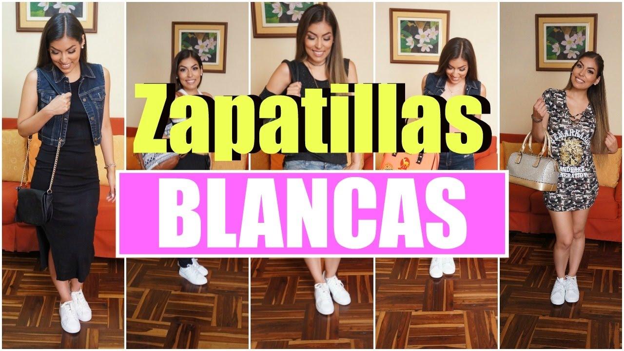 f255336569 5 Outfits con Zapatillas Blancas   Daniella Acosta by Daniella Acosta