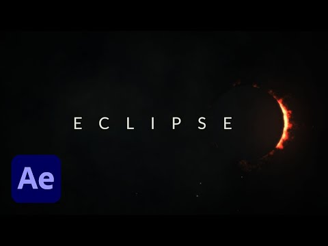 How To Create an Amazing Solar Eclipse in After Effects (Tutorial)