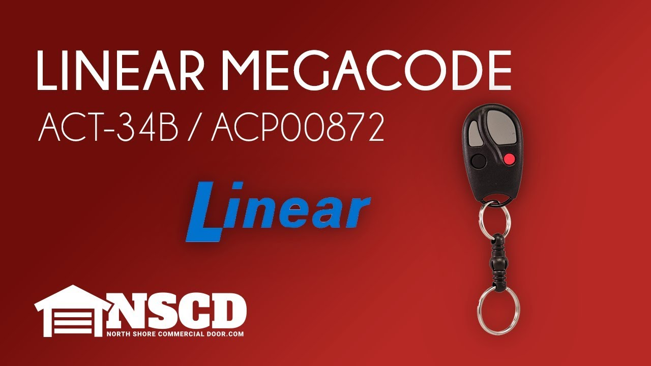 Linear ACT-34B 4-Channel Keychain Transmitter Consumer Electronics Accessories