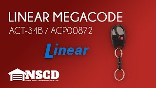 Compatible LINEAR MEGACODE mega-code 318MHz Remote Control ACT-31B ACT-34B #01