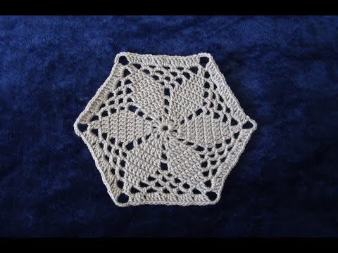 How To Crochet A Hexagon Motif Pattern 702by Thepatternfamily