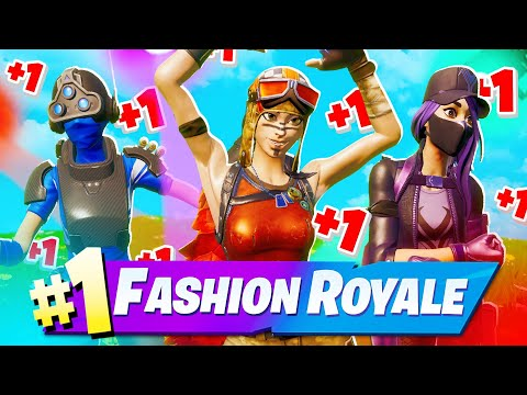 TOP 10 FASHION SHOW SKIN COMBOS IN FORTNITE!
