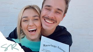 WE ARE GETTING MARRIED TODAY | Sadie Robertson and Christian Huff