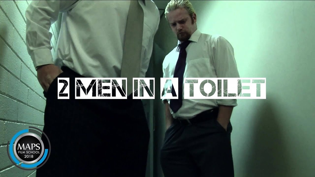 Toilet gay spy