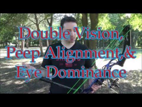 Eye Dominance, Double Vision, & Peep Sight Talk (Rchery Vision Episode 9)