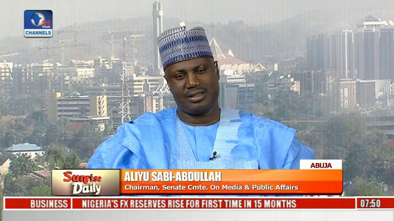 Data Tariff Hike: Senate Acted In The Interest Of Nigerians - Aliyu Sabi-Abdullah