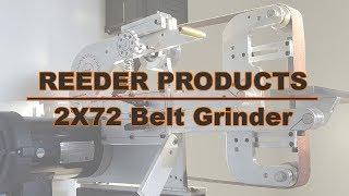 Knifemaking - Reeder Products 2X72 Belt Grinder Pt.2