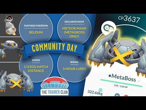 TOP 5 TIPS to MAXIMIZE SHINY BELDUM COMMUNITY DAY in POKEMON GO!