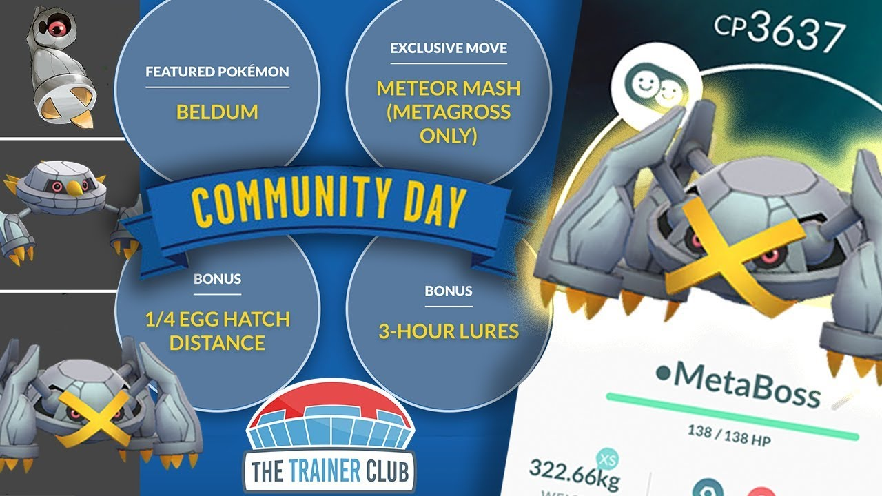 Top 5 Tips To Maximize Shiny Beldum Community Day In Pokemon Go