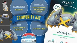 TOP 5 TIPS to MAXIMIZE SHINY BELDUM COMMUNITY DAY in POKEMON GO!