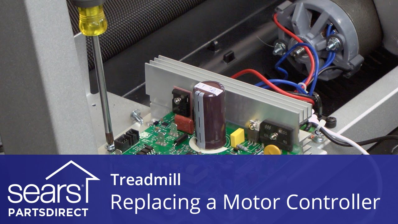 How to replace a treadmill motor controller youtube for How to reduce motor speed