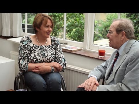 Lord Snowdon and Baroness Tanni Grey-Thompson in conversation