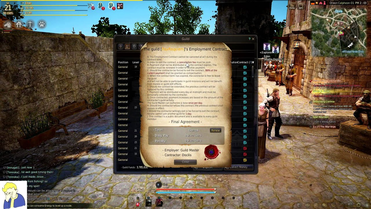 Black Desert Online Guides - Clans, Guilds, and Guild Contracts