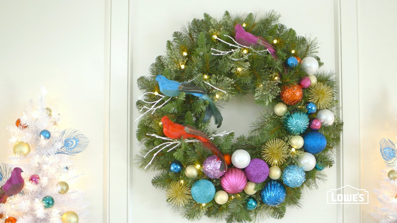 How To Decorate A Wreath
