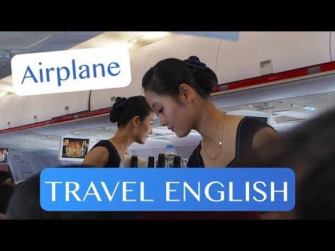 Du lịch Anh - Trên máy bay