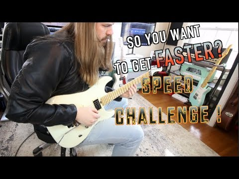 So You Want To Get Faster SPEED CHALLENGE!