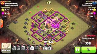 Best Giant/Healer Attack Strategy - Clash of Clans