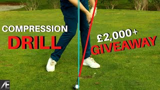 HOW TO STOP FLIPPING THE  GOLF CLUB (COMPRESSION DRILL)