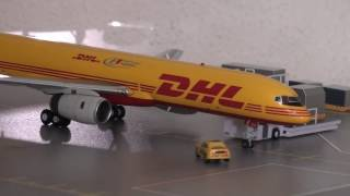 1:200 scale airplane model collection (februari 2017)