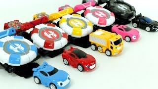 Power Battle Watch Car Mini Shooting Car Toys 파워 배틀 와치카 시계 미니 자동차 슈팅 장난감 개봉  동영상
