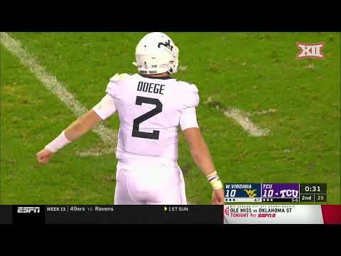 West Virginia Vs. TCU Football Highlights