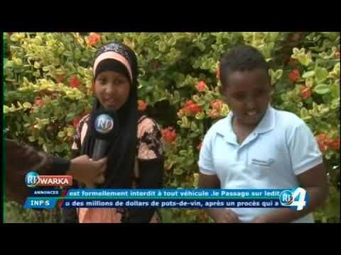 Télé Djibouti Chaine Youtube : JT Somali du 23/12/2017