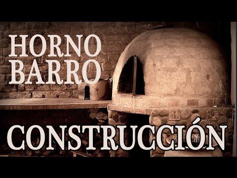 C mo hacer la construcci n de horno de barro youtube - Hornos de piedra ...