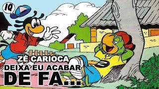 Quadrinhos narrados do Zé Carioca - Deixa eu terminar de fa...