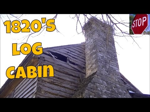 Metal Detecting 1820's Log Cabin + Civil War Hunting RARE Confederate Bullets | JD's Variety Channel