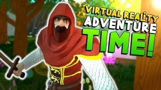 AMAZING ZELDA-INSPIRED ADVENTURE GAME IN VR! | Vengeful Rites VR - HTC Vive