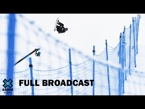 Jeep Men's Snowboard Slopestyle Elimination: FULL BROADCAST | X Games Aspen 2020