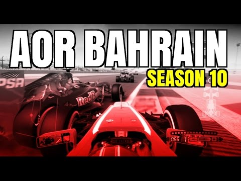 F1 2013 | AOR Season 10 - Round 4 - Bahrain (Highlights)