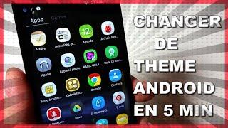Changer de thème Android en 5 min