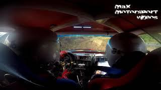 Onboard Vincent Foucart & Bérangère Barbe ES7 Salhagagne Rallye des Cimes 2018
