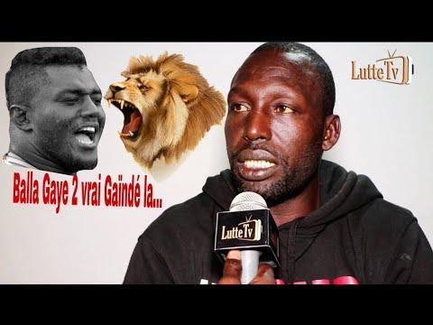Balla Diouf 'Eumeu Sène vs Balla Gaye 2 moy combat bi...'