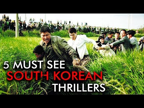Five Must-See South Korean Thrillers