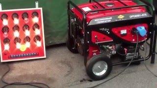 видео Бензиновый инверторный генератор DDE DPG1101i