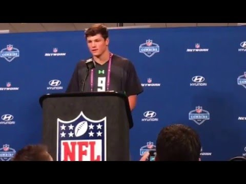 Christian Hackenberg Penn State QB on #NFLCombine Experience
