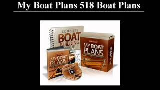My Boat Plans 518 Boat Plans