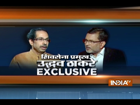 Shiv Sena chief Uddhav Thackeray Exclusive Interview with Ajit Anjum