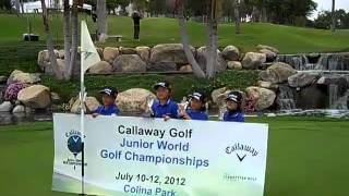 Callaway  Junior World Golf Championship 2012