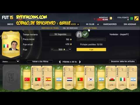 FIFA 15 - Truco contratos infinitos en Ultimate Team