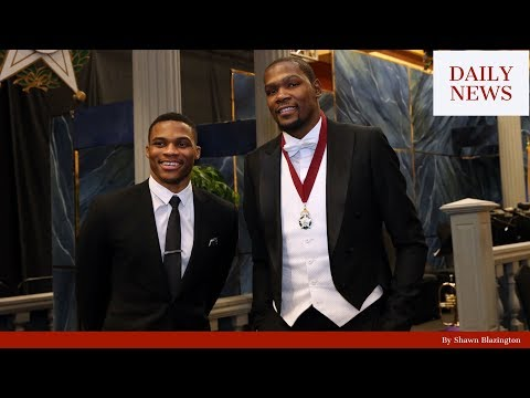 Kevin Durant and Russell Westbrook caught Shopping Together in Dubai