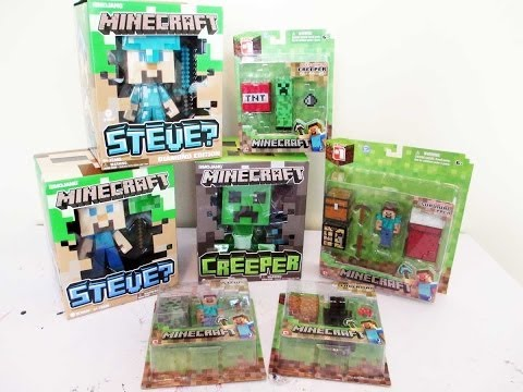 Minecraft Blind Bag Opening Funnydog Tv