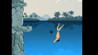 CLIFF DIVING GAME WALKTHROUGH