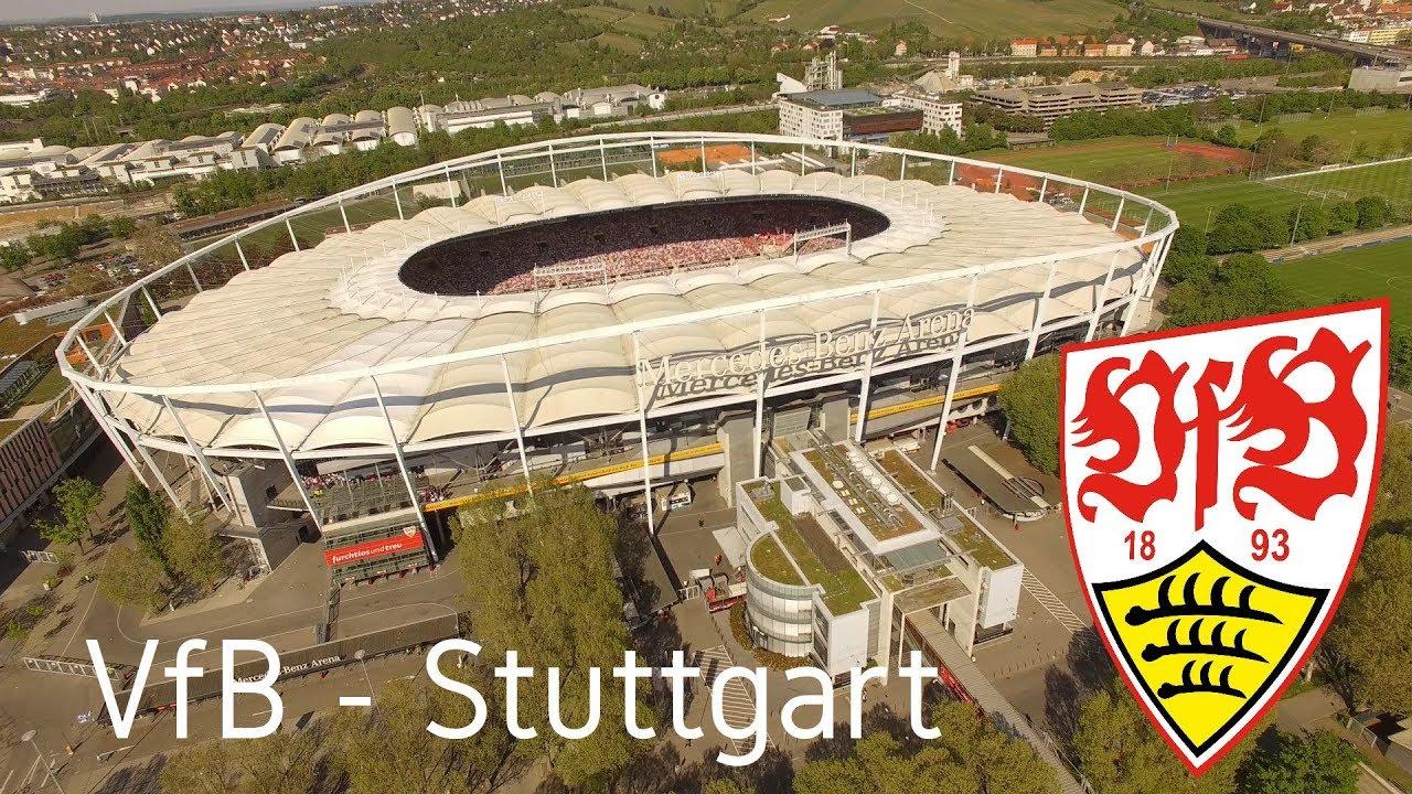 Mit dem VfB - Stuttgart in der Mercedes Benz Arena in 4K ...