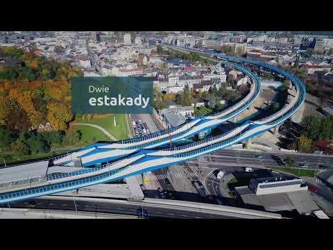 Estakada kolejowa Kraków Zabłocie - Kraków Podgórze